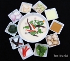 Tom Kha Gai and its ingredients