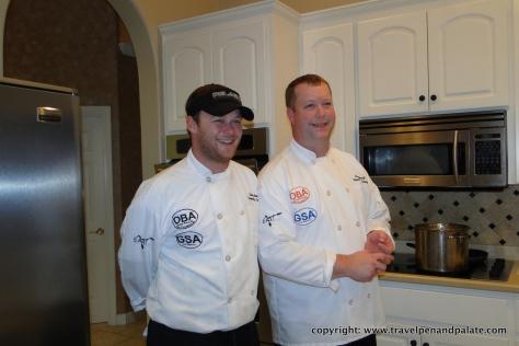 Chefs Landon Benton & Chris Sherrill