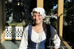 Shelby Clarke, guide at Historic Pensacola Village