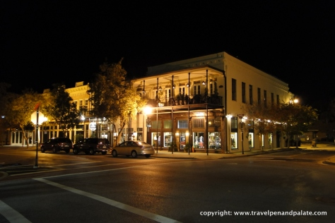 on Palafox Street, historic downtown Pensacola, Fl