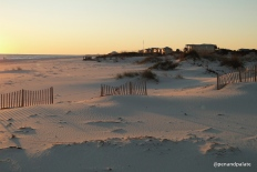 Gulf Shores, Al, beach in front of Kiva Dunes Resort