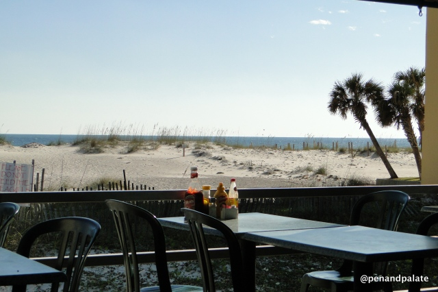 view from Bahama Bob's, Gulf Shore, Al