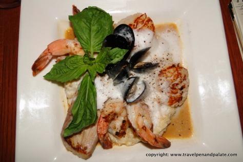 Seafood risotto, Bistro de Leon