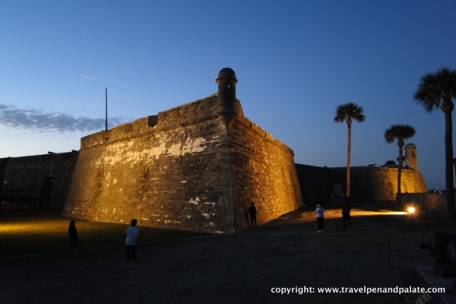 Castillo de San Marcos,  1572, Spanish fortress