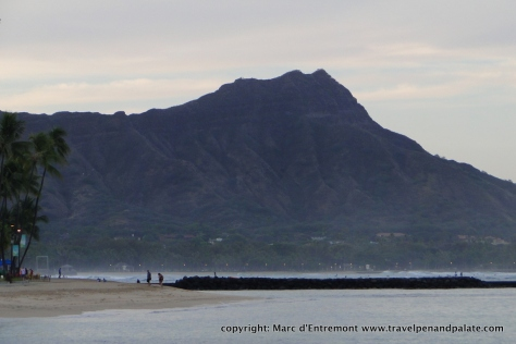 Diamond Head, Waikiki, Hawaii