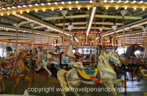 Seaside Heights carousel pre-Superstorm Sandy and before its destruction by fire on September 12, 2013
