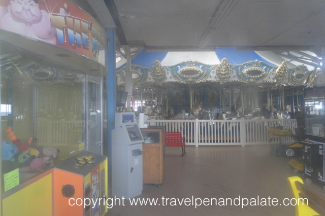 The Denzell/Looff carousel Seaside Heights, NJ, as seen 3 days before the September 12, 2013 fire.