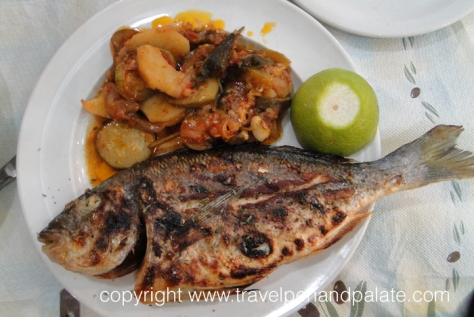 Grilled Sea Bream, To Kati Allo, Athens