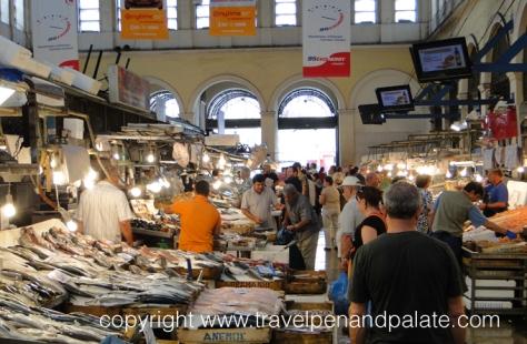 Varvakios Agora, the Athens Central Market