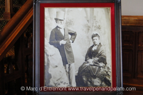 Princess Bernice Pauahi Bishop (1831-1884) (right) & Charles Bishop (1822 - 1915) (left)