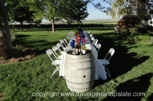 Dinner at Sawtooth Winery, Nampa, ID – Zee Catering