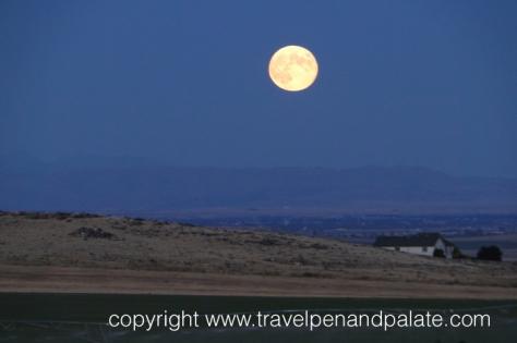 An Idaho harvest moon