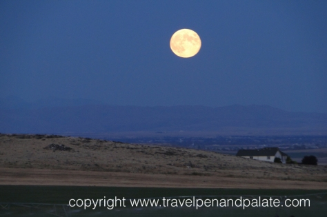 An Idaho harvest moon
