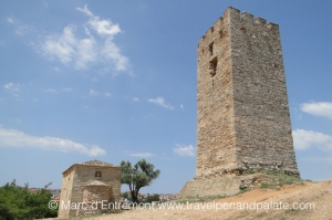 Nea Fokea:14th Century Byzantine tower and church
