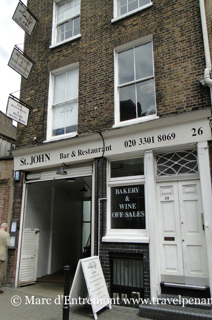 St. John Bar & Restaurant, London, UK