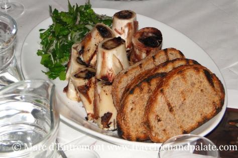 Marrow bones at St. John Bar & Restaurant, London, UK