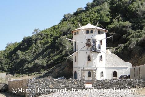 Windmill on the island of Alonissos