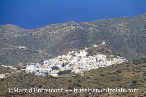 Chora, Ios island