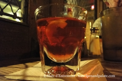 "Sazerac: the ""official"" drink of New Orleans"