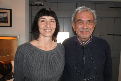 Georgia Tsara and Yiorgos Hatziyannakis