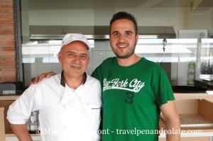 Chef Kostas Tsoutsas & Yannis Laspas