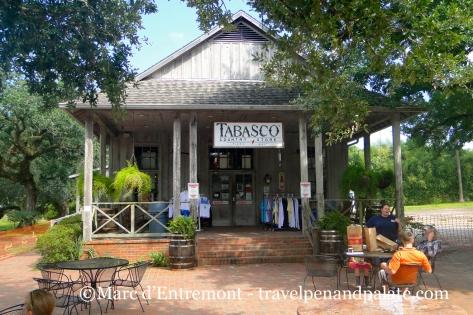 Tabasco store, Avery Island