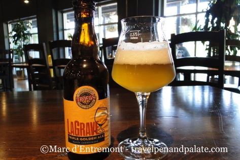 Troegs LaGrave Triple Golden Ale