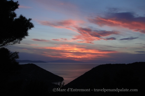 Sunset on Alonissos