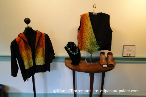 Wearable art at the Art League of Rehoboth