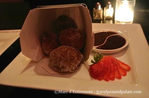 Cafe Fresco's Dim Sum Donuts