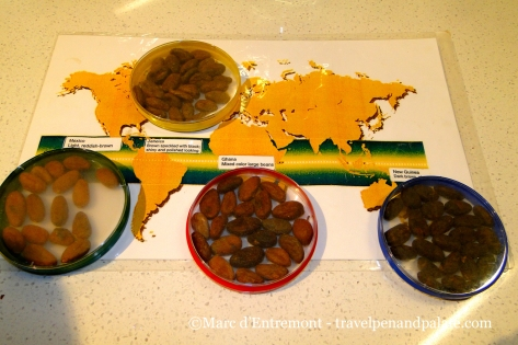 sampling the world's chocolate in the Chocolate Lab