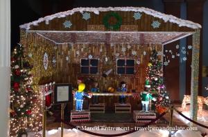 Santa's Workshop in gingerbread