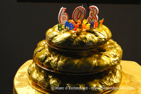 Joan of Arc's birthday King Cake