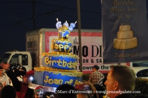 Krewe de Jeanne d'Arc's birthday parade