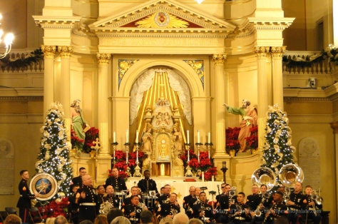 United States Marine Corps Band New Orleans at St. Louis Cathedral