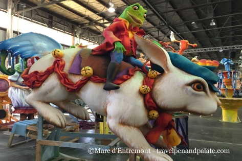 prop at Mardi Gras World, New Orleans