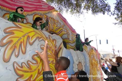 Krewe of Carrollton, Mardi Gras 2015 New Orleans