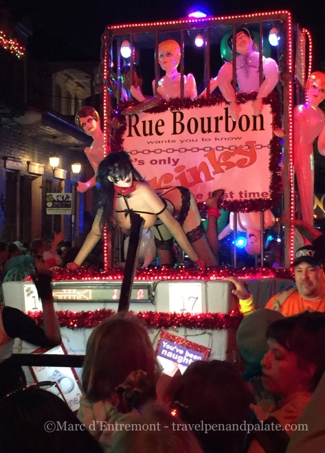 New Orleans: Krewe du Vieux, Mardi Gras 2015