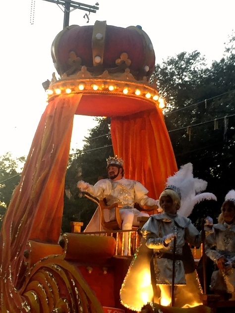 Sargon kink of the Krewe of Babylon Mardi Gras 2015 New Orleans