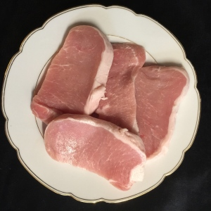 "1/2"" thick boneless pork chops"