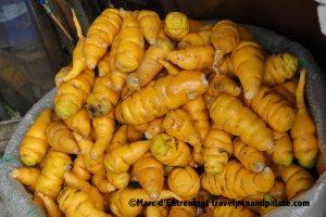 One of 200 varieties potatoes in Ecuador