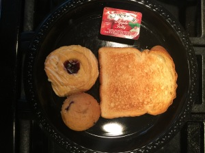 """""""Petrafied"""" American hotel breakfast food. (2 - 3 years old - no blemish.)"""