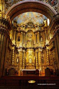 La Iglesia de la Compañía de Jesús, Quito, Ecuador