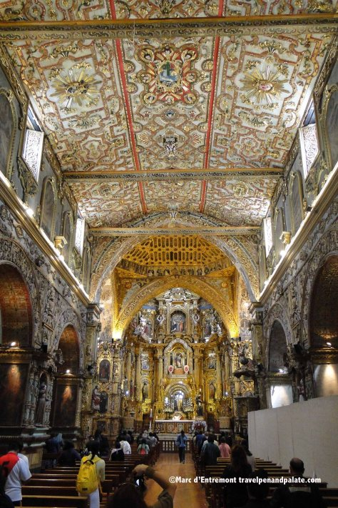 Iglesia de San Francisco. Quito, Ecuador