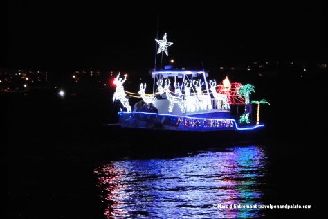 Christmas boat parade, St. Pete, FL