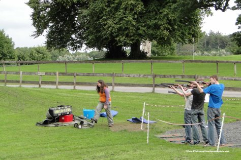 skeet shooting, Westport House, Ireland