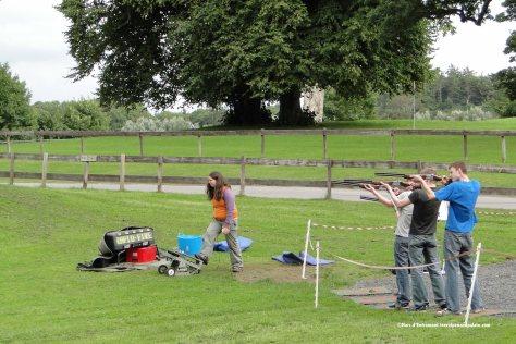 skeet shooting, Westport House, Ireland