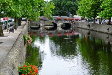 Carrowbeg River mall, Westport, Ireland