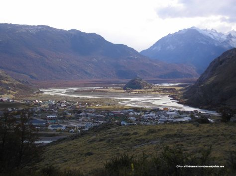 El Chalten & Rio de las Vueltas river valley, Patagonia, Argentina
