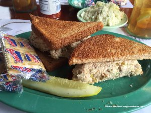 Smoked Fish Sandwich, Ted Peters Famous Smoked Fish, St. Petersburg, FL
